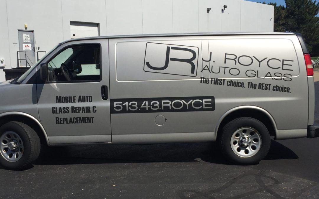 Fleet Vehicle Graphics for your Company – J. Royce Auto Glass – Cincinnati, OH