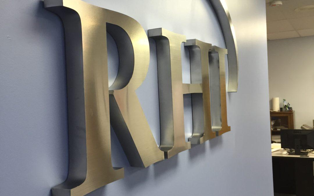 Lobby Sign – RHI – Cincinnati, OH
