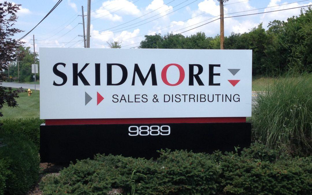 Monument Sign For Skidmore Cincinnati Oh