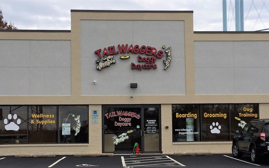 New Retail Store Signage – Tailwaggers – Cincinnati, OH